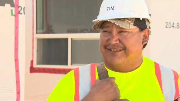 Tim Traverse, from Lake St. Martin First Nation