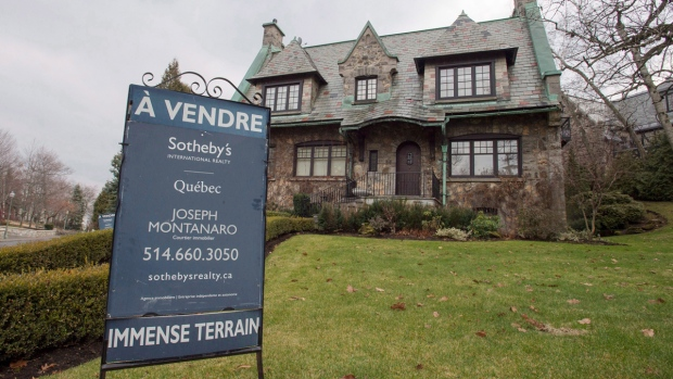 House for sale in Westmount in Montreal, Quebec