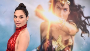 "In this May 25, 2017 file photo, Gal Gadot arrives at the world premiere of ""Wonder Woman"" in Los Angeles. (Jordan Strauss / Invision / AP)"