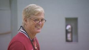 Gym teacher Dave Reid