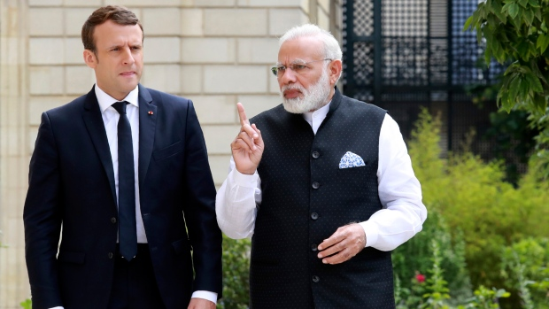 Climate and terrorism two big threats for humanity: PM Modi in France