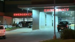 Emergency department entrance at the Peter Lougheed Centre in northeast Calgary (file)