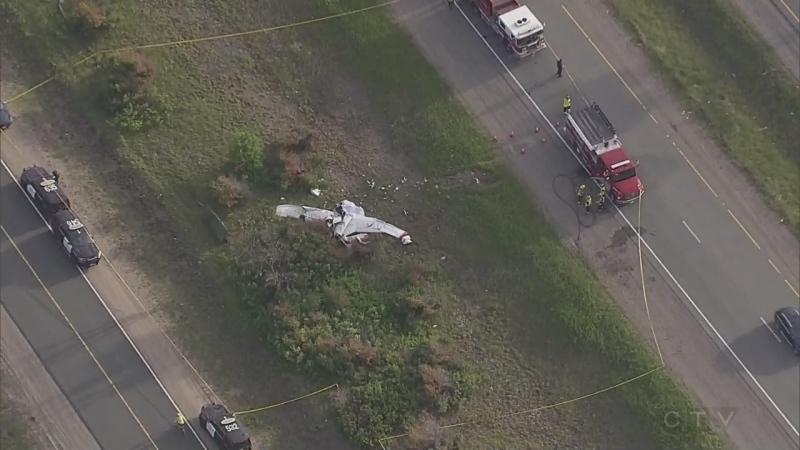 Gravenhurst-area plane crash