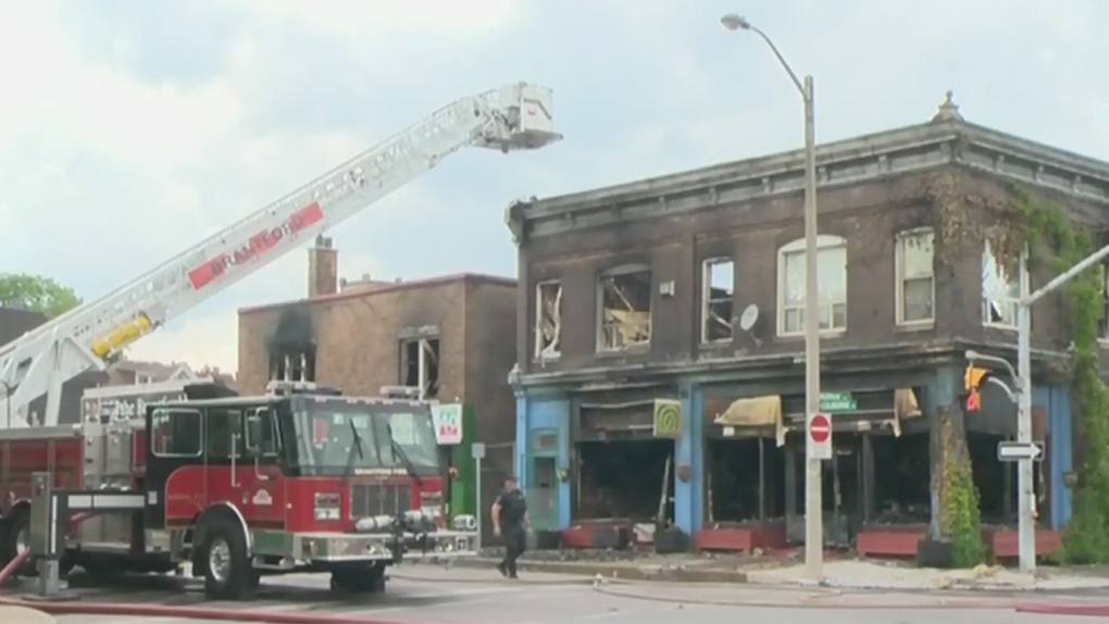 Several taken to hospital following Brantford fire | CTV