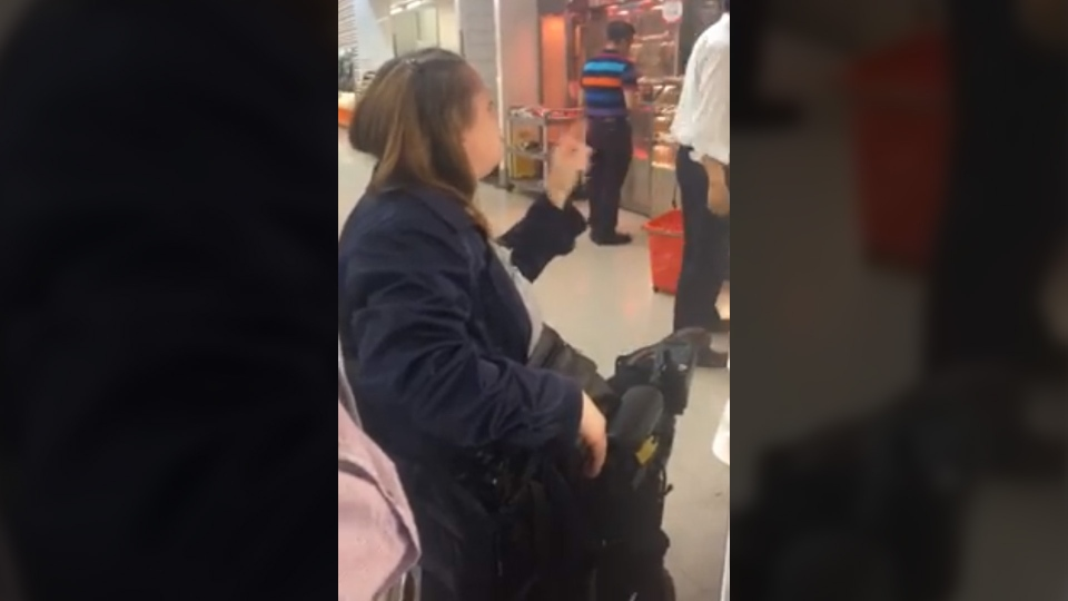 Image result for 'Go back to China': Outrage over racist rant caught on video
