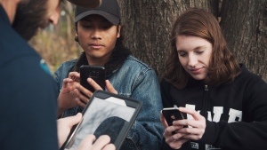 BioBlitz Canada 150 aims to link technology and living nature, with field records snapped directly to iNaturalist.ca. (BioBlitz Canada)