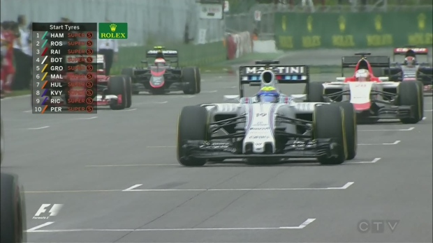 Lewis Hamilton reigns in Canada again!