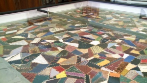 For many, the colourful mosaic achieved by joining the scraps of rich silk and velvet represents the diversity of peoples that call themselves Canadians.