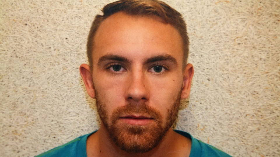 William Sandeson has been found guilty of the first-degree murder of 22-year-old Dalhousie University student Taylor Samson, whose body has never been found. (Court exhibit)