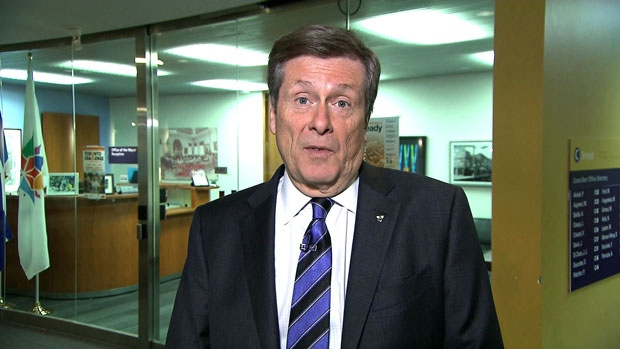 Tory talks about trade-mission to Chicago