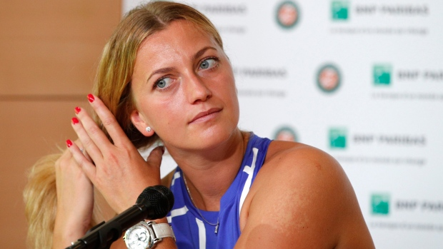 Kvitova's comeback includes playing New Haven before US Open