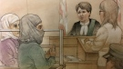 Rehab Dughmosh, 32, appeared in a Toronto courtroom on Tuesday, June 6, 2017.