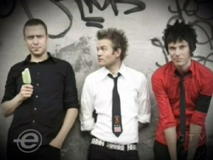 Canadian rockers Sum 41's greatest hits album hits store shelves Tuesday.