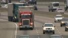 trucks, driving