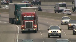 Nearly 700 charges laid against truckers on Ontario roads in 24-hour period | CTV News