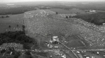 About 400,000 people attend the Woodstock Music and Arts Festival in Bethel, N.Y. on August 16, 1969. (AP)