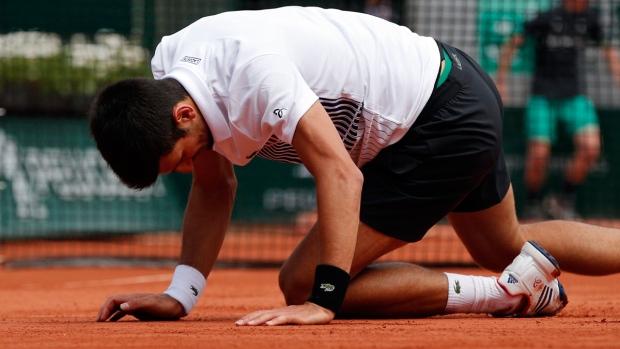 Djokovic sinks Ramos-Vinolas to reach French Open quarter-finals