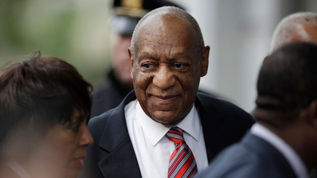 Bill Cosby arrives for his sexual assault trial at the Montgomery County  Courthouse in Norristown, Pa., Wednesday, June 7, 2017. (AP Photo/Matt  Rourke)