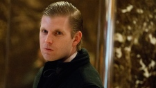 Eric Trump in Trump Tower in New York