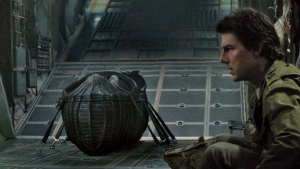 In this image released by Universal Pictures, Tom Cruise appears in a scene from, 'The Mummy.' (Universal Pictures via AP)