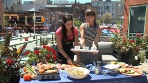 Asparagus and Cheddar Soufflés