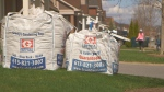 With Greely Gardening bags, you choose a cubic yard of what you want…topsoil, mulch or river rock, delivered right to your driveway!