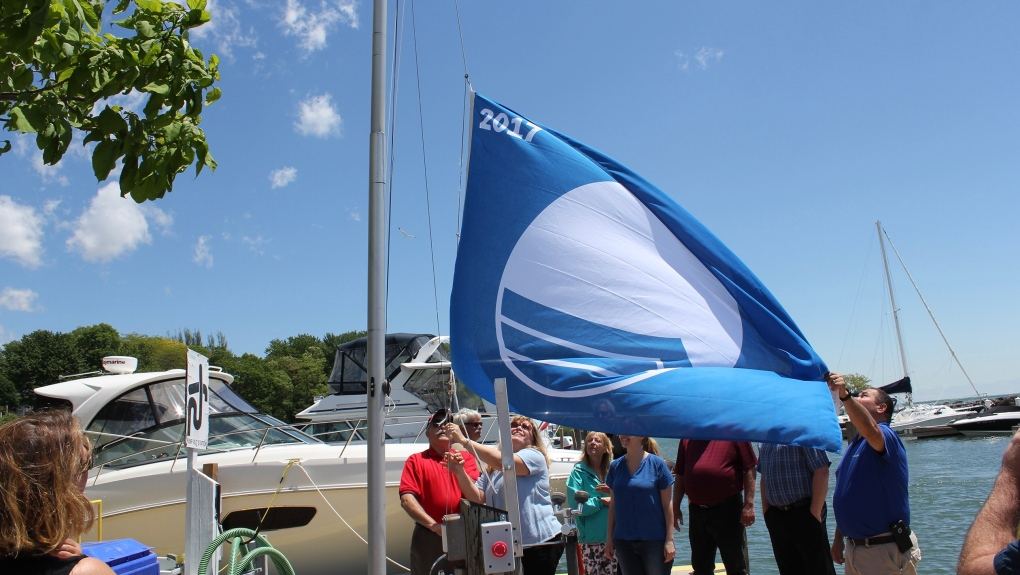 Blue Flag flying at Colchester Harbour Marina for third year