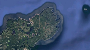The community of La Scie, N.L. is seen in this Google Maps image. (Google Maps)