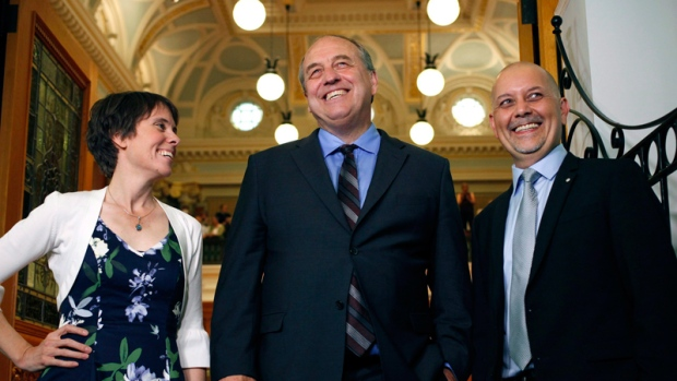 B.C. Green Caucus elected MLAs
