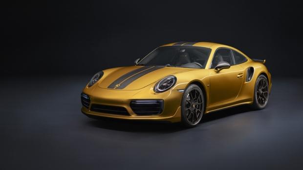 Porsche 911 Turbo S Exclusive Series (AFP / @Po)