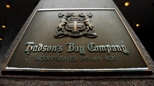 Hudson's Bay Co. CEO Gerald Storch leaving, executive chairman assuming CEO role