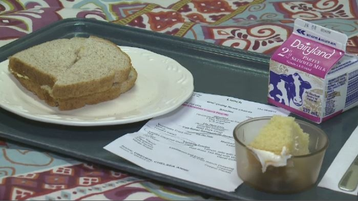 A patient at the Wascana Rehabilitation Centre is upset about the meals she's being served.