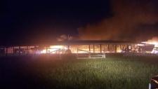 Blaze destroys Kawacatoose FN powwow arbour
