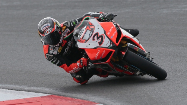 Retired motorcycle racer Max Biaggi seriously injured