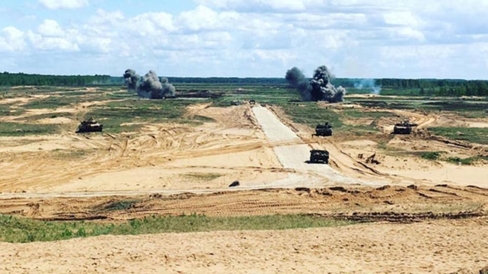 Exercise Saber Strike in Latvia