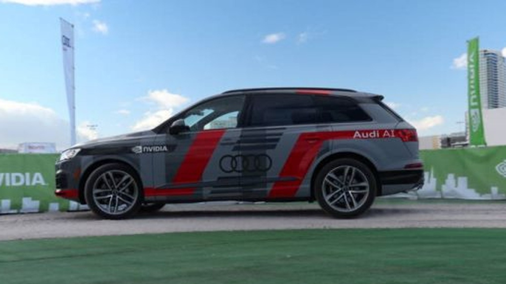 Audi Q7 Deep Learning Concept Car