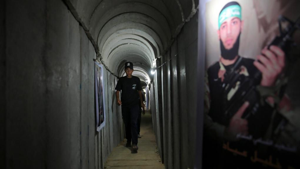 Gaza City tunnel