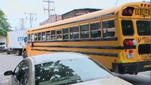 school bus, quebec