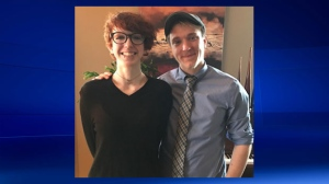 Sydney Robillard and Alex Simons remain unaccounted for after the plane Simons was piloting failed to arrive in Kamloops on a flight that originated in Lethbridge (photo: RCMP)