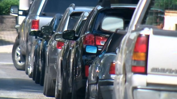 Residents of the city's east end are divided over permit parking in the area. (CTV News Toronto)