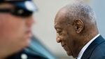 Bill Cosby walks from the Montgomery County Courthouse during his sexual assault trial in Norristown, Pa. ON Friday, June 9, 2017. (AP / Matt Rourke)