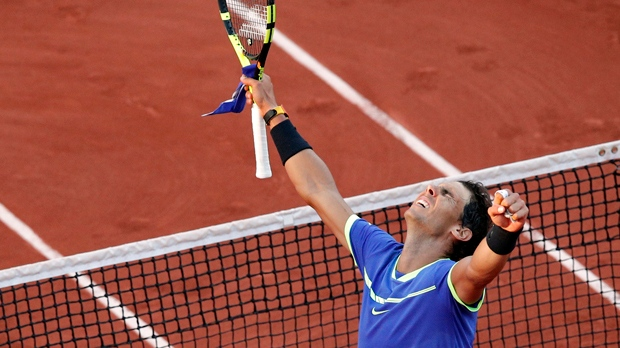 Nadal sets record with 10th French Open title
