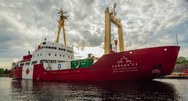 The Canada C3 expedition vessel