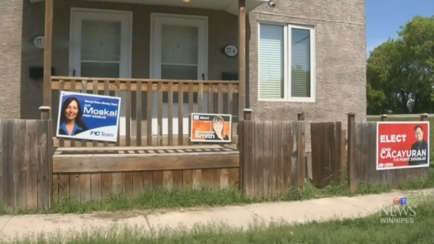 NDP signs