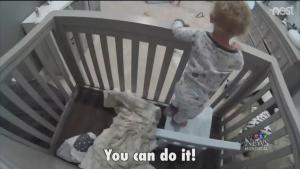 Escaping crib