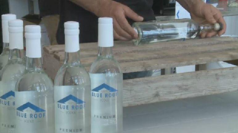 New Brunswick potato farmers have developed a new spirit called Blue Roof Vodka.