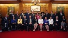Premier Christy Clark, BC Cabinet