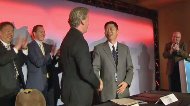Alberta and China sign deal