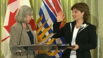 BC premier and new cabinet sworn-in