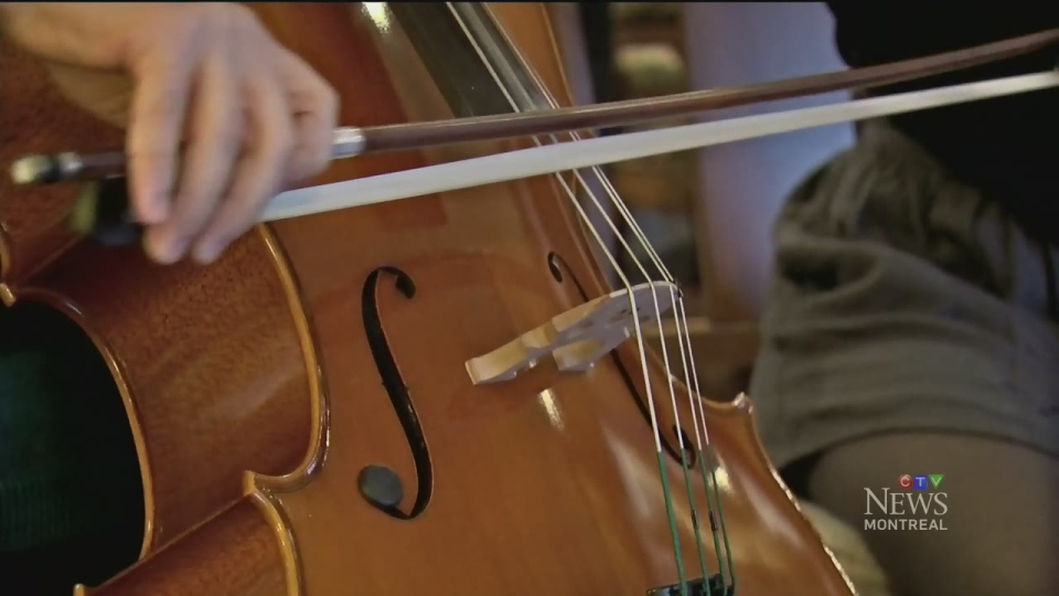 Smadar Brandes is able to play cello again, more than a year after being stabbed in the neck